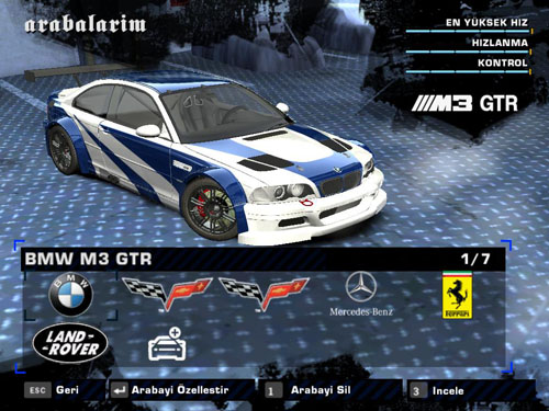 Nfs Most Wanted 2012 Bmw M3 Gtr Download Seattletree